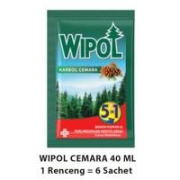 WIPOL SACHET 40 ML ISI 6 SACHET (COCOK UNTUK PEMBUATAN DESINFEKTAN)