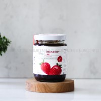 250G STRAWBERRY JAM with Honey Selai Buah - BeeMa Wellness