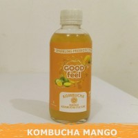 250ML MANGO Kombucha Mangga Probiotik Teh Fermentasi GOOD FEEL
