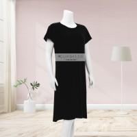 Lunaci Black Breastfeeding Dress