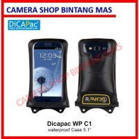 DiCAPac WP-C1 Waterproof Case HP up to 5.1 inches - For Smartphone