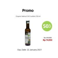Crudolio - Organic Walnut Oil - 250 ml