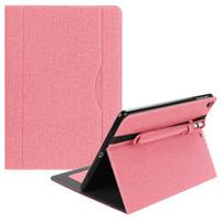 "New iPad 2017 9.7"" Denim Book Smart Flip Case / Cover w.Pencil Holder"