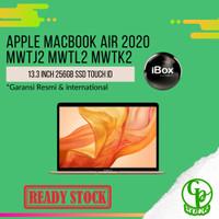 Apple MacBook Air 2020 13.3 Inch 256GB SSD Touch ID Garansi Resmi iBox