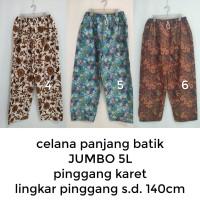 celana panjang batik pria SUPER JUMBO (5L)