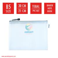 Zipper Document Bag B5 JOYKO DCB-46 Buku Tulis Boxy Campus Binder Note