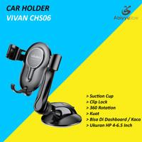 Vivan CHS06 Car Holder Mobil Universal 360 Rotate For HP Smartphone