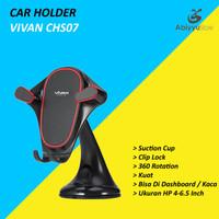 Vivan CHS07 Car Holder Mobil Universal 360 Rotate For HP Smartphone