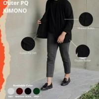Outer Cardigan (Kardigan) KIMONO Polos Couple Wanita Pria Outerwear