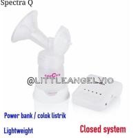Spectra Q PLUS double breastpump - Ungu