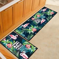 2 in 1 Kitchen Floor Mat / Keset Alas Lantai Rumah Dapur Anti Selip