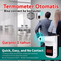 Infrared Thermometer termometer gun automatic wall dinding K3 grosir