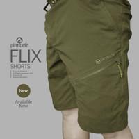 Pinnacle FLIX Short Olive, Celana Pinnacle