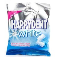 HAPPYDENT White 30 Pillowpack 84 Gr - Permen Karet