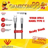 Vivan Kabel Data Type C BTK-C Fast Charging