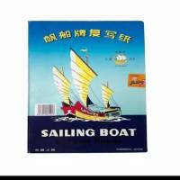 Carbon Sailing Boat - Kertas Karbon - Kertas Jiplak