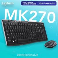 KEYBOARD+MOUSE LOGITECH WIRELESS MK270