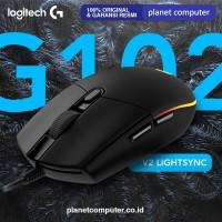 MOUSE LOGITECH GAMING G102 V2 LIGHTSYNC BLACK