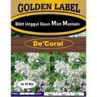 Bibit Unggul Daun Mint Montain | Benih Menthol Mint