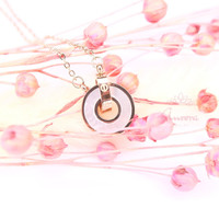 Kalung Unique Circle N16 by Aurora Jewelry®