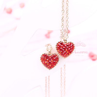 Kalung Sparkling Heart N8 by Aurora Jewelry®