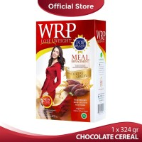 WRP MEAL REPLACEMENT CHOCOLATE CEREAL 324G (6 Sachet)