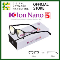 Kacamata K-Ion Nano Premium 5 | Kacamata Terapi - Black - Black