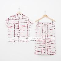 Lunaci Red Ripple Naomi Pyjamas