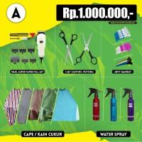 Paket Alat Cukur atau Pangkas A Harga Rp 1.000.000 Termurah