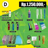 Paket Alat Cukur D Harga Rp 1.250.000