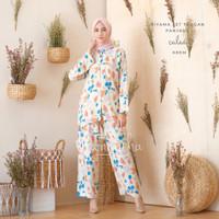 Pajamas / Piyama One Set Kemeja Tie Dye Calea