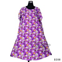 Daster Mega | Dress Vega Payung | Baju Midi Tidur | Summer Dress 1253