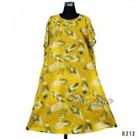 Daster Mega | Dress Vega Payung | Baju Midi Tidur | flower 1294
