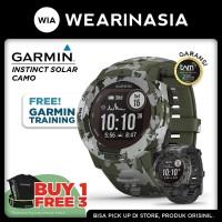 Garmin Instinct Solar Camo Edition - Garansi Resmi TAM 2 Tahun - Lichen Camo