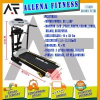 FENOMENAL! TOTAL FITNESS Treadmill Elektrik TL 629 3 fungsi
