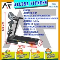DISKON! TOTAL FITNESS Treadmill Elektrik / Electric TL 288 3 Fungsi