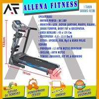 SPECIAL! TOTAL FITNESS Treadmill Elektrik TL 270 Auto Incline