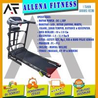 TOTAL FITNESS Treadmill Elektrik TL 222 / treadmill TL222 - BISA COD