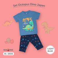 setelan baju anak dinosaurus / baju lebaran anak laki / set jogger ana