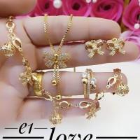 xuping set perhiasan lapis emas 24k f745
