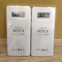SAMSUNG NOTE 8 Silikon Bening Tebal 2.00mm Transparant Jelly Case