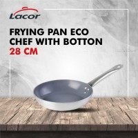 Wajan Lacor - Frying Pan Eco Chef With Botton D28 Cm