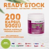 Healthy Care Vitamin E 500IU - 200 Kapsul