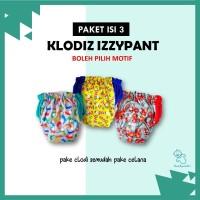 ORIGINAL Paket Clodi Klodiz Izzypants – Popok Kain Celana