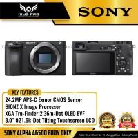 Sony Alpha A6500 Body Only Kamera Mirrorless