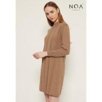 NOA everyday Dress Wanita Rajut TAMI Long Kintted Dress