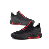 Promo Sepatu Pria/Sneakers Pria/Running Shoes/Fashion Pria Premium - Merah, 40