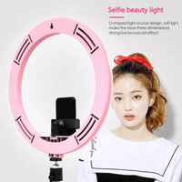 Ring light 30 cm tripod for selfie live cam make up good lighting foto