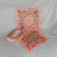Satu Set Sarung Bantal Sofa/ Full Bordir