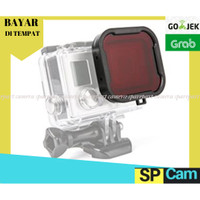 Red Dive Filter Underwater for Gopro & Brica / Diving Filter